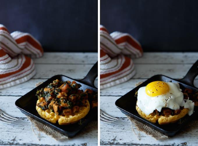 Spinach And Potato Breakfast Hash Recipe — Dishmaps