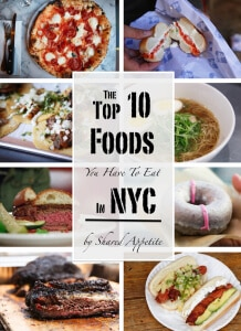 The Top 10 Foods You Have To Eat In NYC