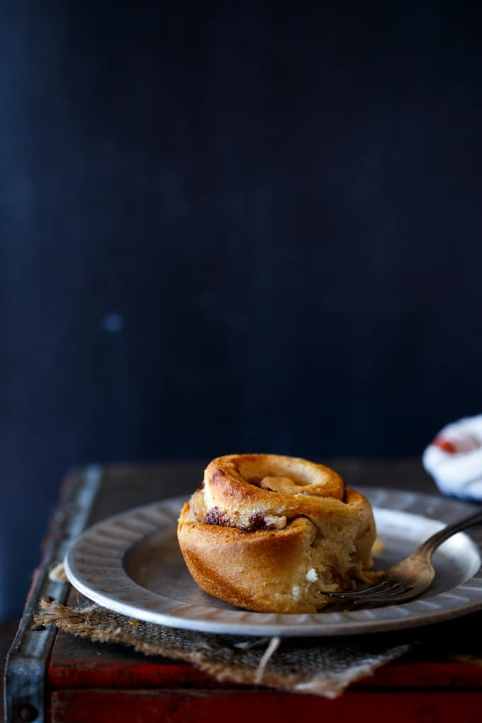 Leftover Apple Pie Cinnamon Buns | sharedappetite.com
