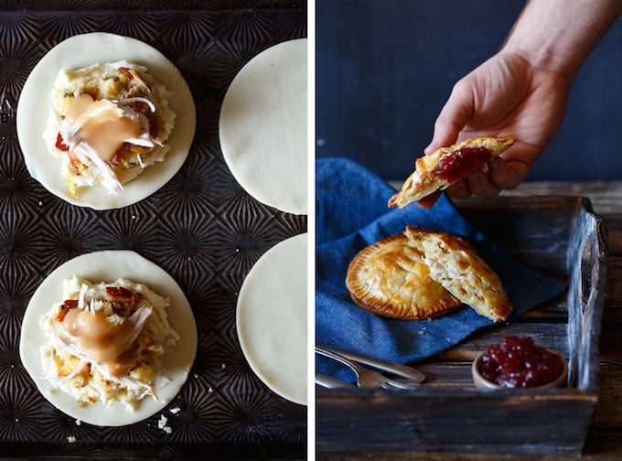 Leftover Thanksgiving Hand Pies | sharedappetite.com