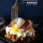 Leftover Thanksgiving Stuffing Waffles | sharedappetite.com