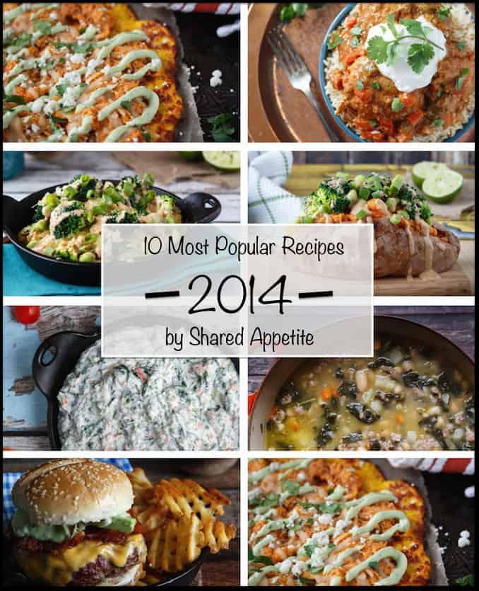 10 Most Popular Recipes of 2014   sharedappetite.com
