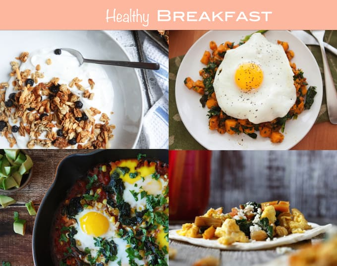40 Creative Healthy Recipes for 2015 | sharedappetite.com