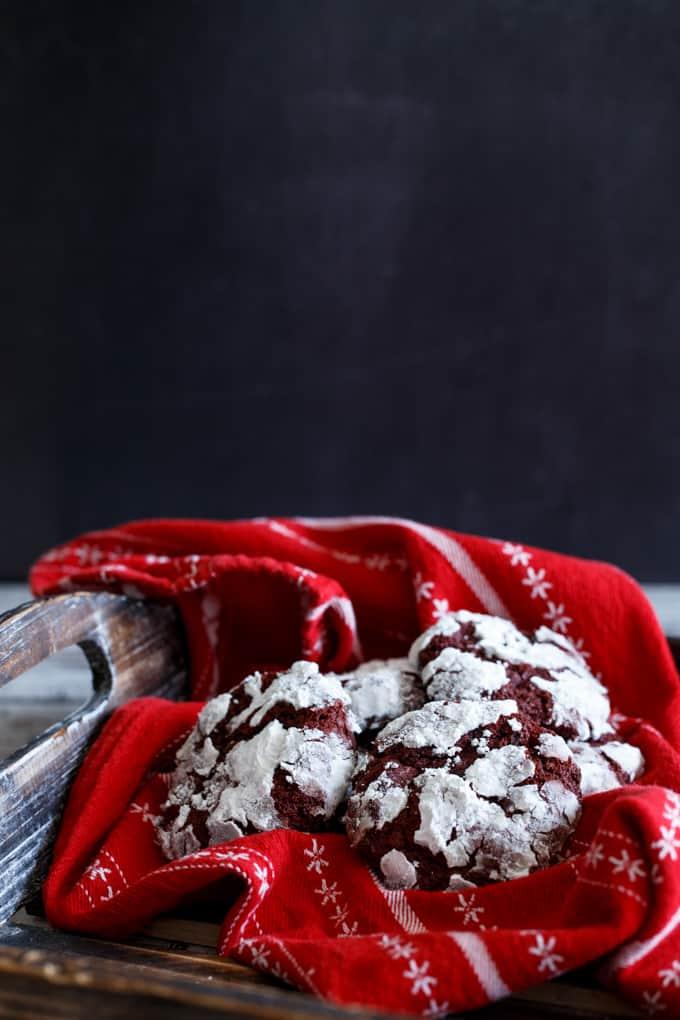 Nutella- Stuffed Red Velvet Chocolate Chip Cookies   sharedappetite.com