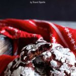 Nutella- Stuffed Red Velvet Chocolate Chip Cookies | sharedappetite.com