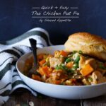 Quick and Easy Thai Chicken Pot Pie | sharedappetite.com