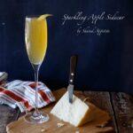 Sparkling Apple Sidecar   sharedappetite.com