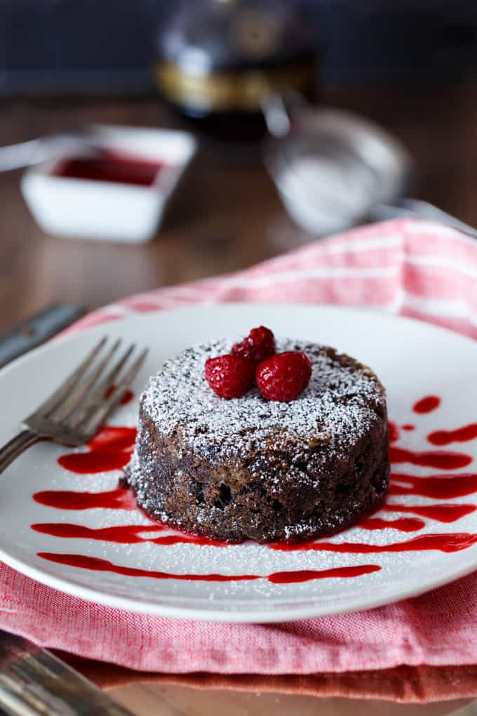 Chocolate Chambord Donut Bread Pudding | sharedappetite.com