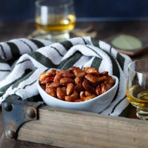 Candied Harissa Spiced Nuts