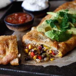 Southwest Chicken Stromboli