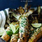 Korean Inspired Mexican Street Corn | sharedappetite.com