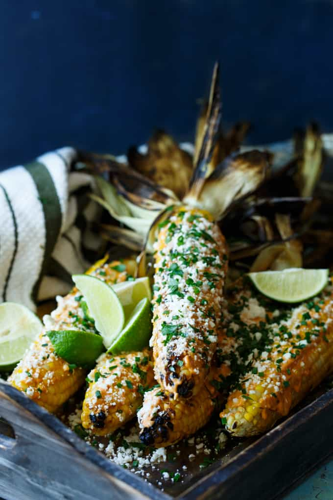 Korean Inspired Mexican Street Corn | sharedappetite.com