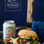 Korean Kimchi Burger | sharedappetite.com