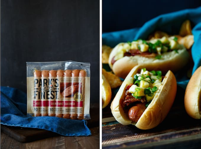 Pineapple, Bacon, and Teriyaki Hot Dogs - Shared Appetite