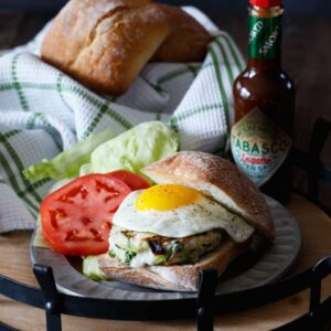 Chicken, Zucchini, and Mozzarella Burgers