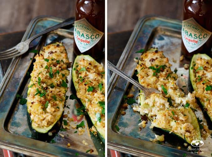 chipotle-chicken-rice-mozzarella-zucchini-boats-13