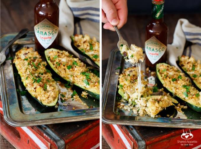chipotle-chicken-rice-mozzarella-zucchini-boats-14