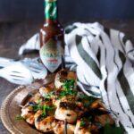 Spicy Chipotle Honey Chicken Kebabs | sharedappetite.com