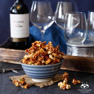 Honey Gochujang Popcorn Clusters