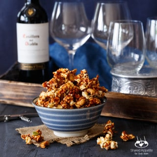 Honey Gochujang Popcorn Clusters   sharedappetite.com