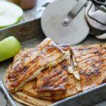 Caramel Apple Cheesecake Quesadillas   sharedappetite.com