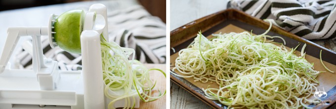 Gluten-Free 5 Ingredient Apple Cider Glazed Pork Tenderloin with Apple Noodles | sharedappetite.com