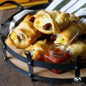 Sausage, Egg, and Cheese Breakfast Roll-Ups