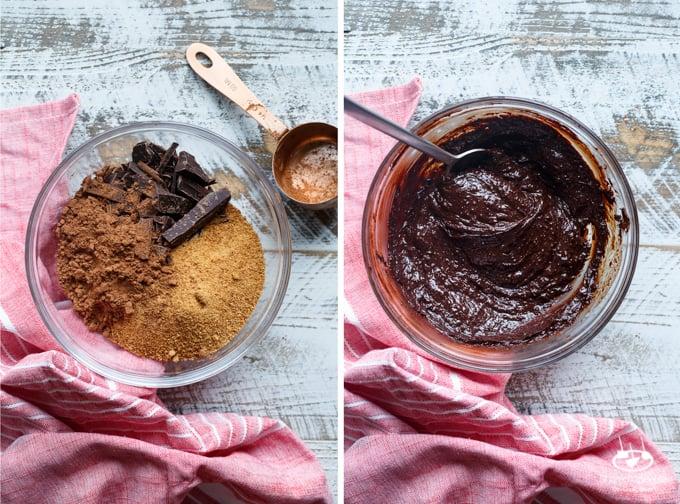 Vegan Chocolate Raspberry Mousse | sharedappetite.com