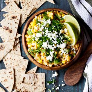 Mexican Street Corn Dip with Avocado
