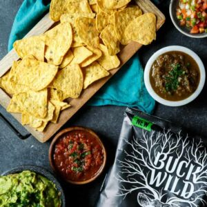 Bold Snacking with Buck Wild Tortilla Chips