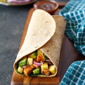Hawaiian BBQ Chicken Wrap