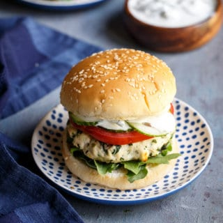 Greek Turkey Burgers | sharedappetite.com