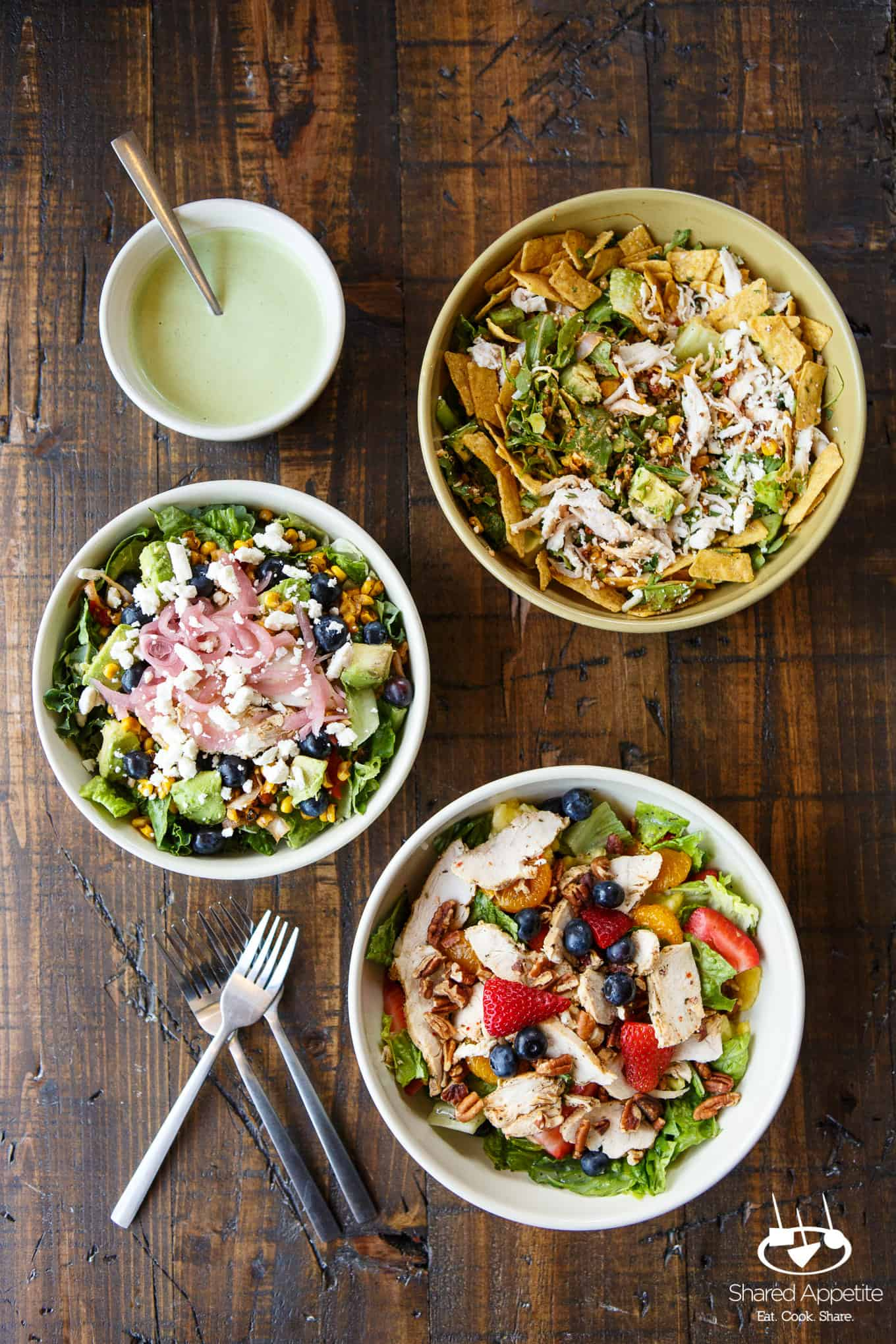 Create Your Own Salad at Panera - Shared Appetite