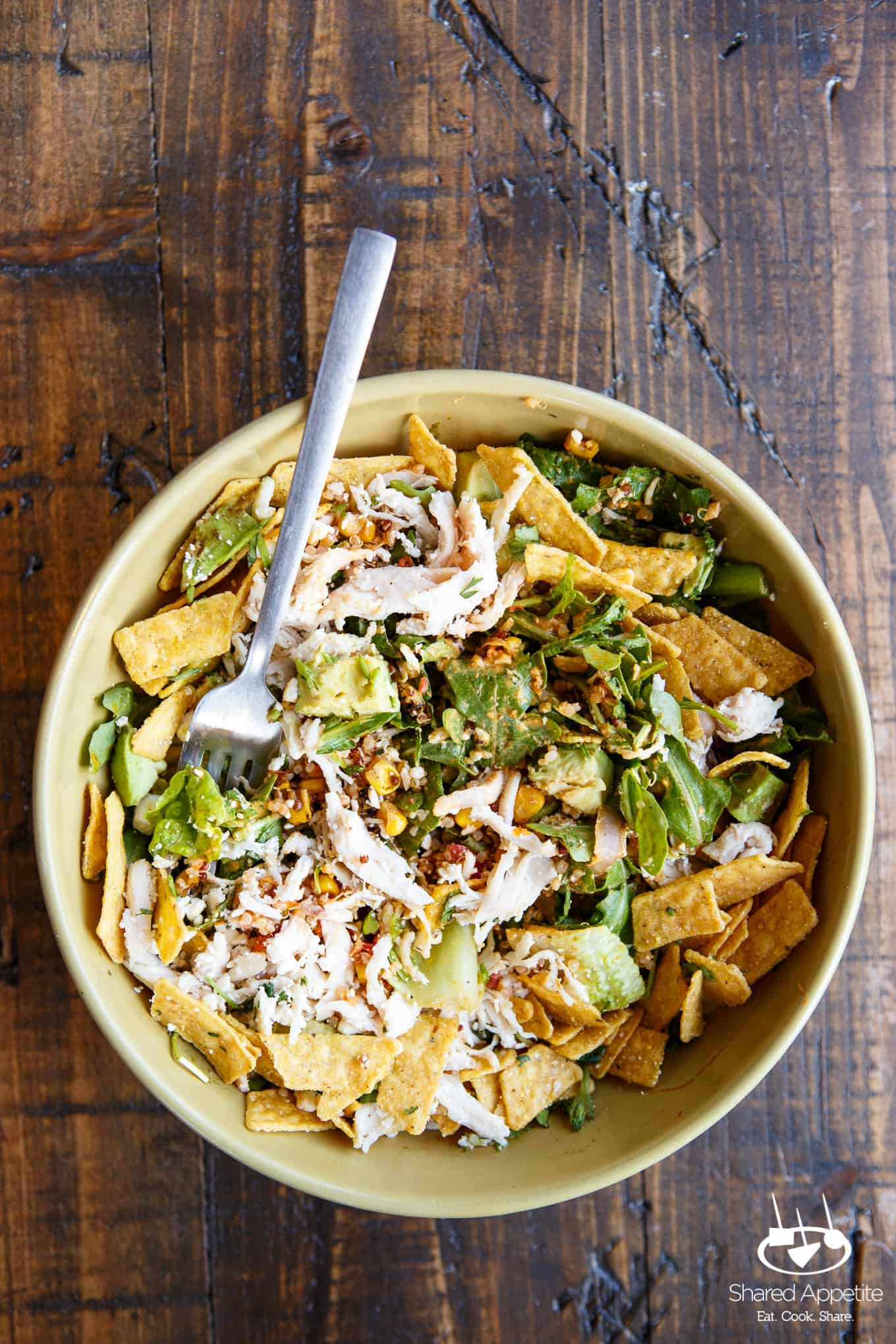 Southwest Chile Lime Ranch Salad at Panera