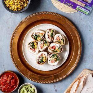 Southwest Turkey Wraps | sharedappetite.com