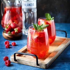 Sparkling Berry Rosé Sangria