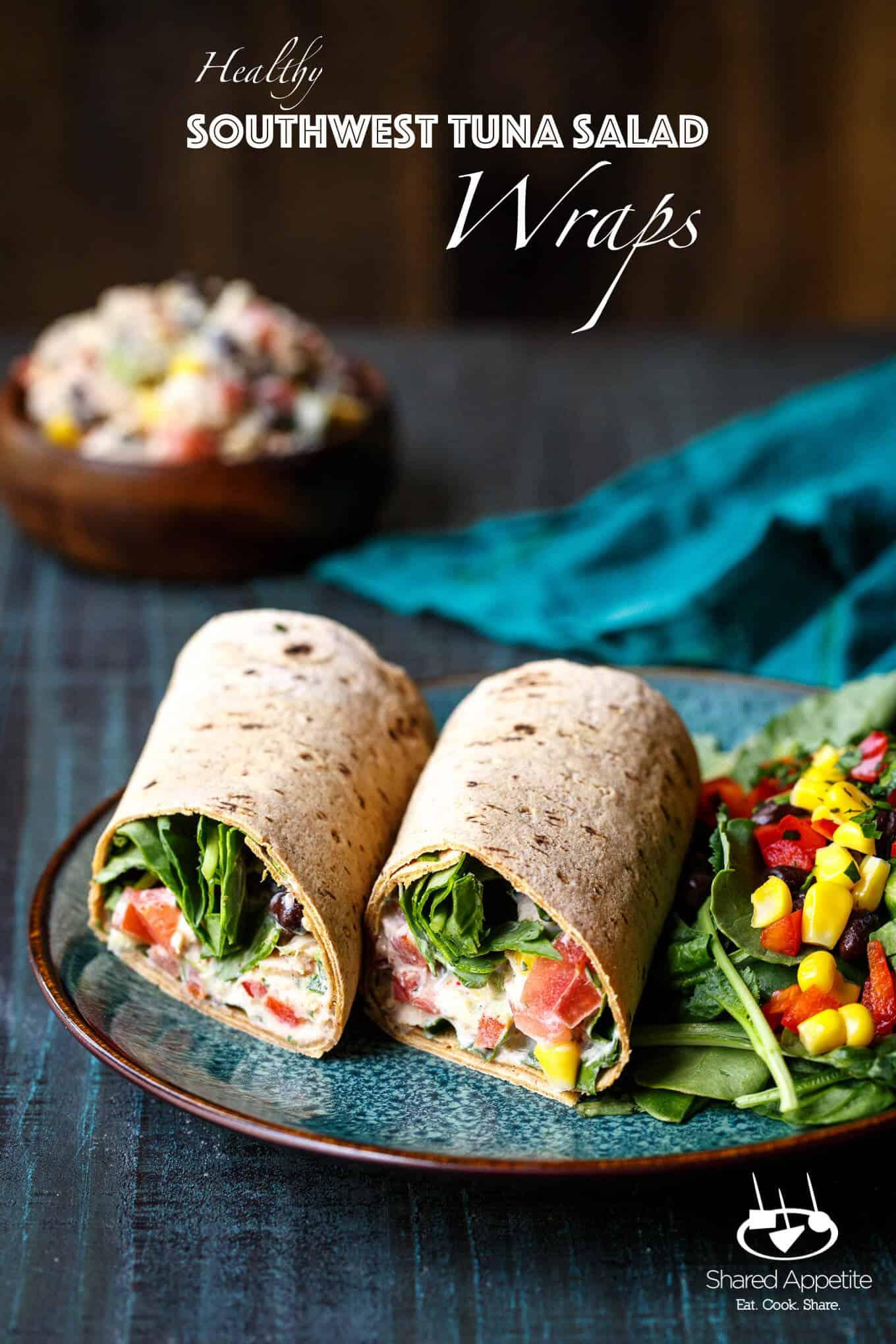 Low-Calorie and Low-Fat Tuna Wrap Recipe foto