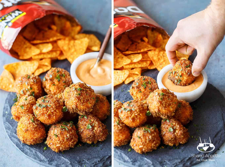Mac 'N' Cheeseballs