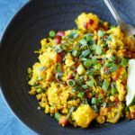 Thai Pineapple Fried Cauliflower Rice | sharedappetite.com
