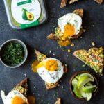 Elotes Avocado Toast with a Fried Egg | sharedappetite.com
