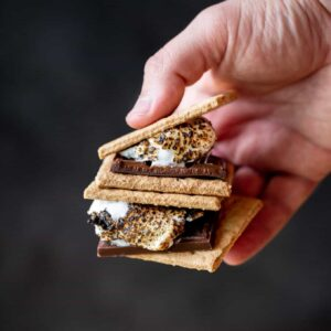 DIY S'MORES BAR PARTY | sharedappetite.com