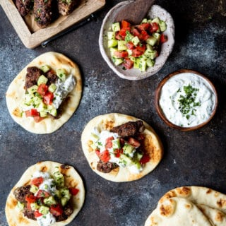 Greek Lamb Tacos | sharedappetite.com