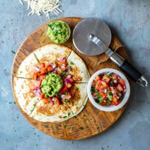 Produce for Vegan Zucchini and Corn Quesadillas | sharedappetite.com