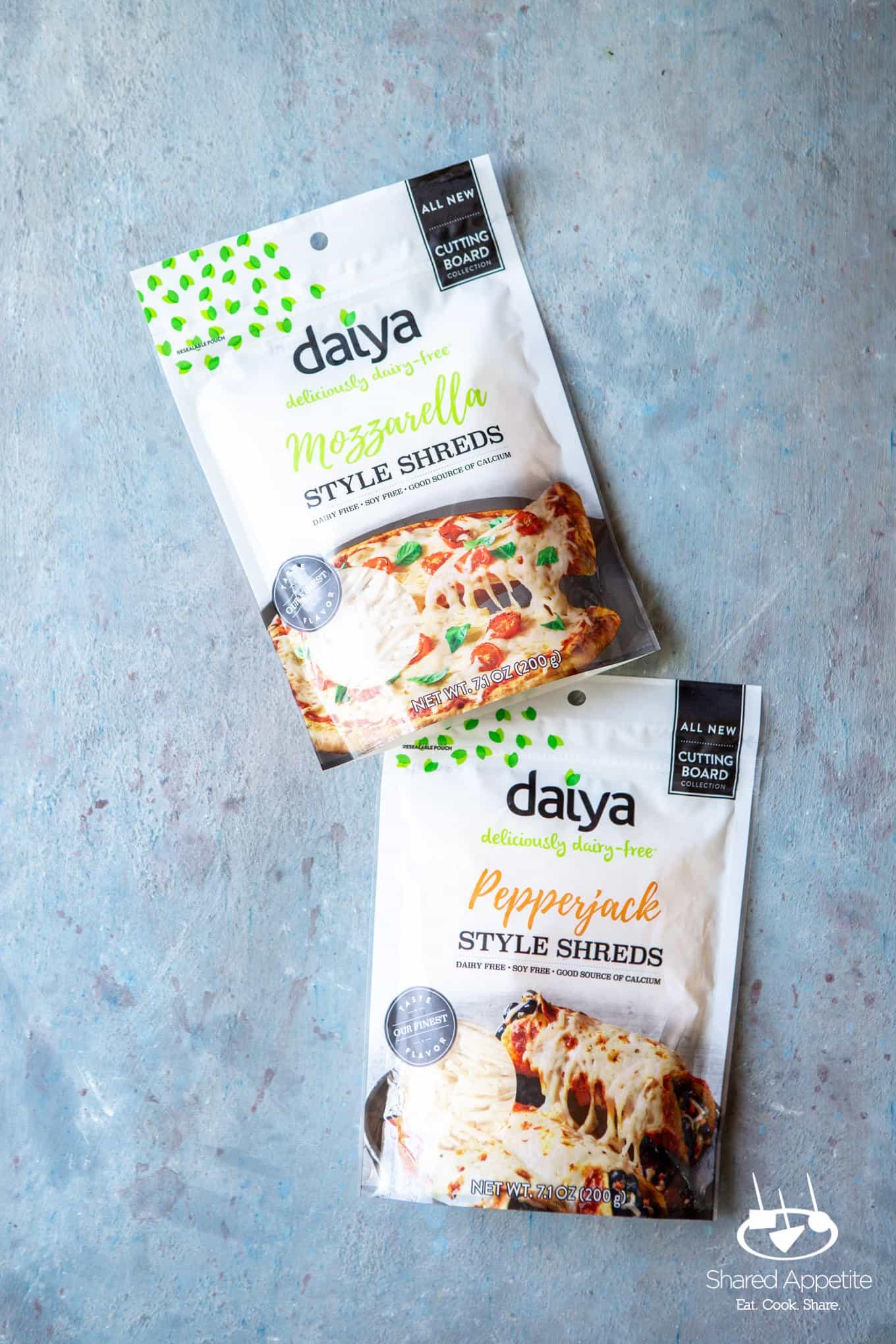 Daiya Cheese for Produce for Vegan Zucchini and Corn Quesadillas | sharedappetite.com