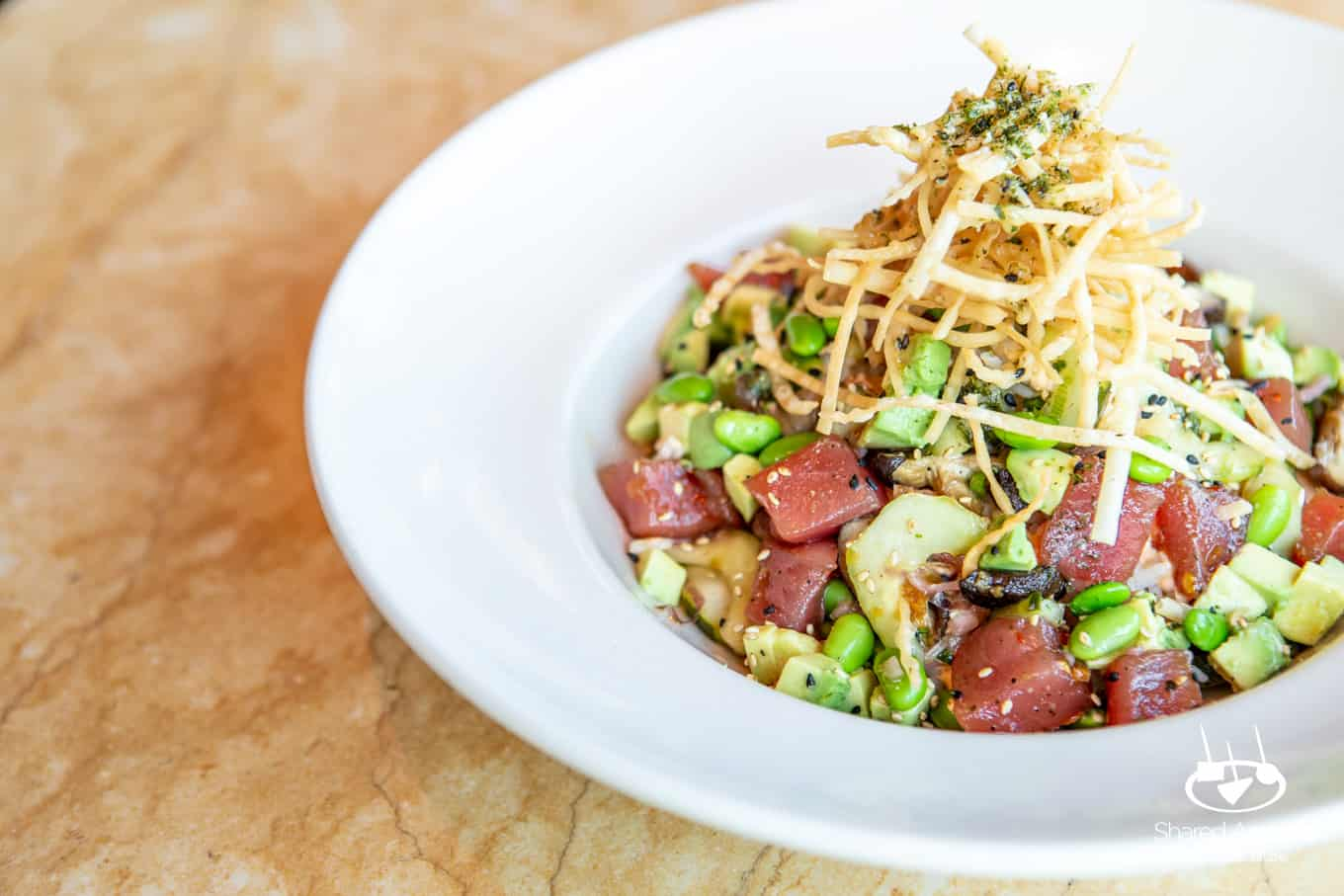 Ahi Tuna Poke Bowl at The Cheesecake Factory | sharedappetite.com