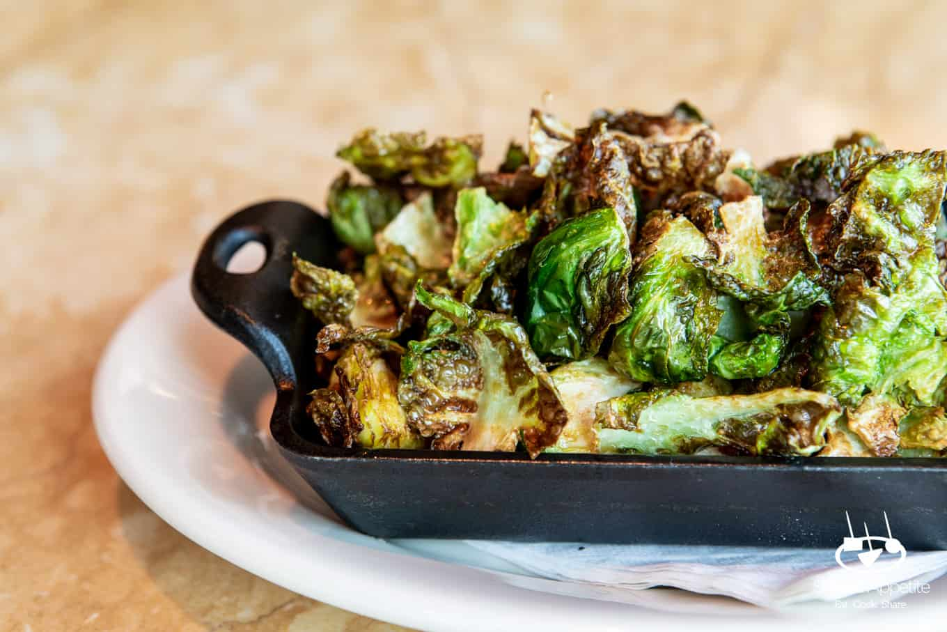 Maple Brussels Sprouts at The Cheesecake Factory | sharedappetite.com