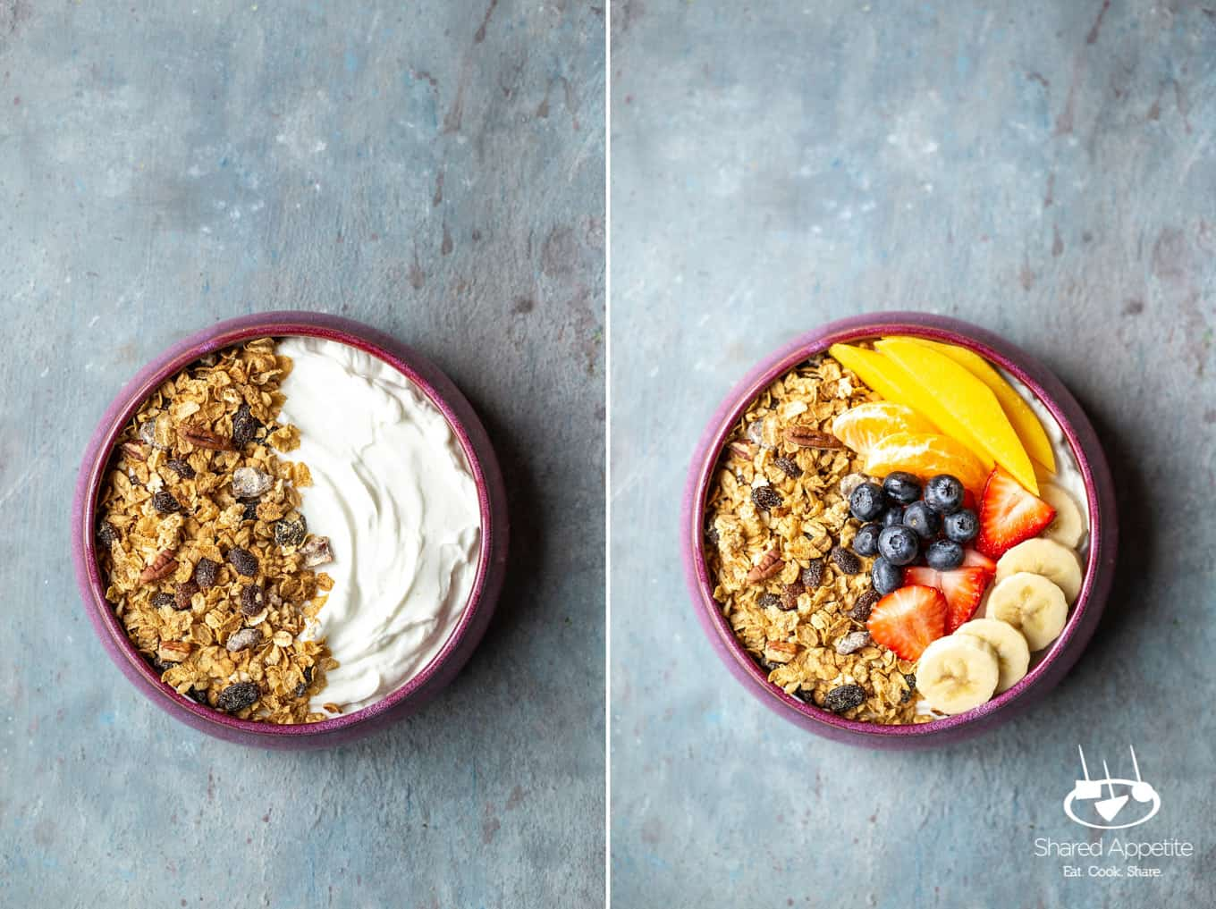 Loaded Yogurt Bowls | sharedappetite.com