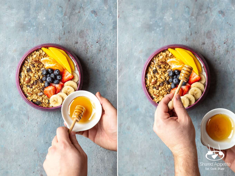 Loaded Yogurt Bowls   sharedappetite.com