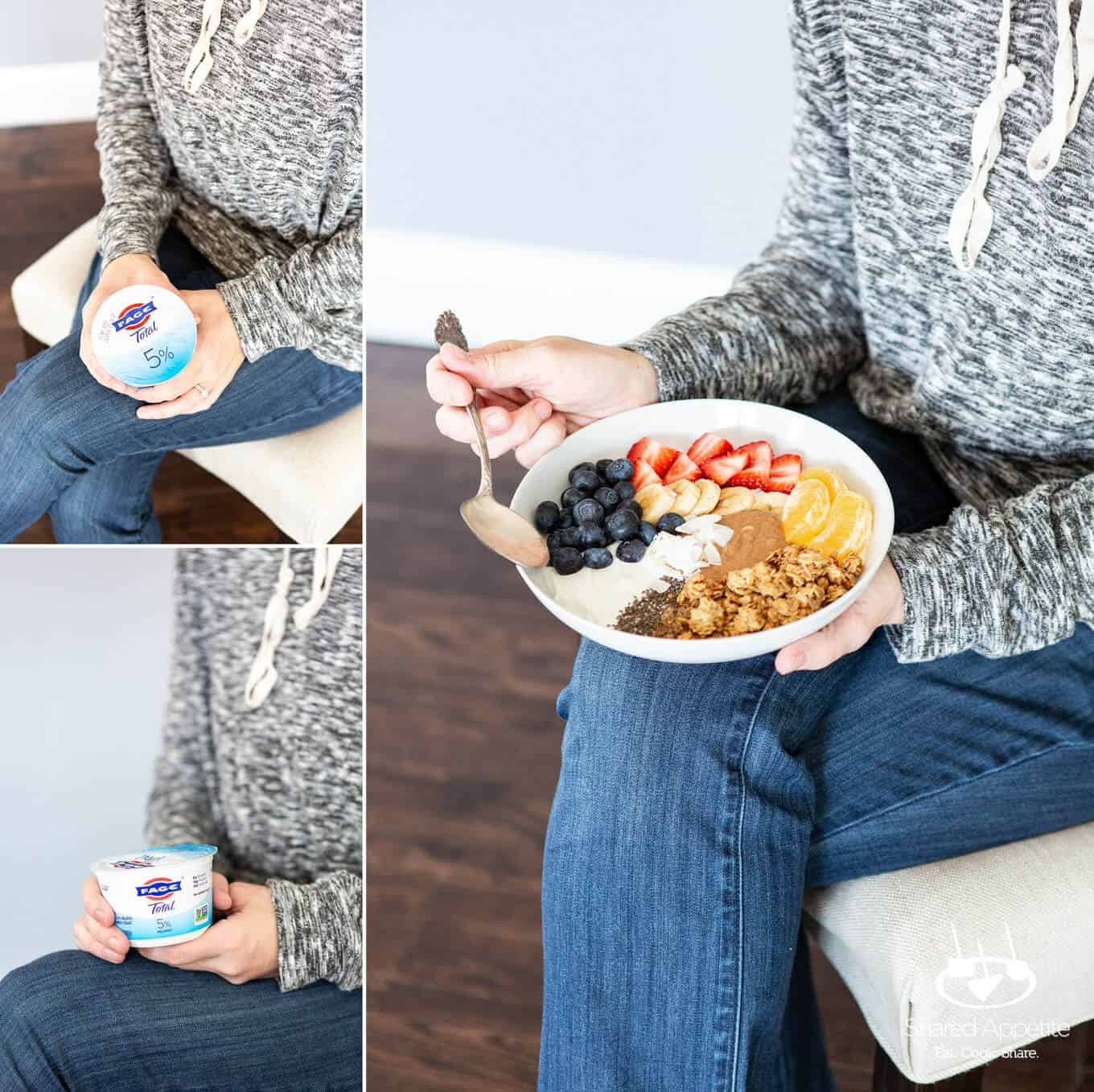 Breakfast Superfood Yogurt Bowls | sharedappetite.com