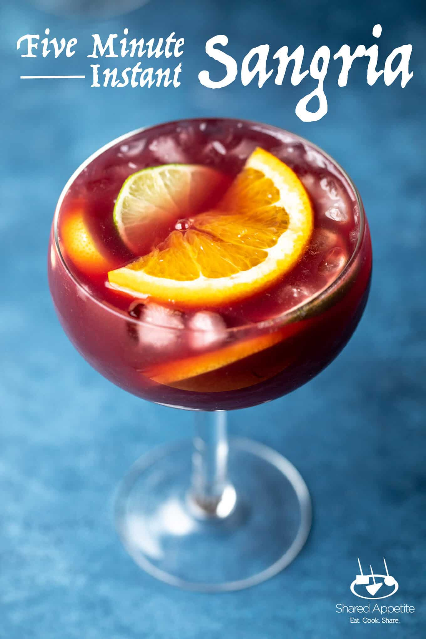Five Minute Instant Sangria